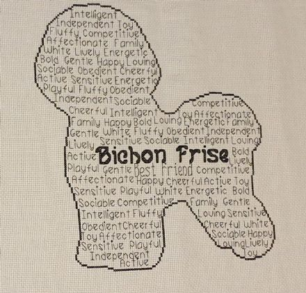 Bichon Frise In Words
